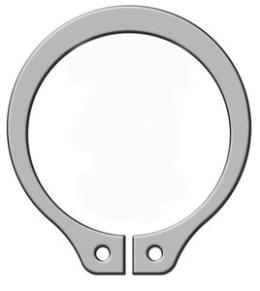 Pierścienie osadcze segera